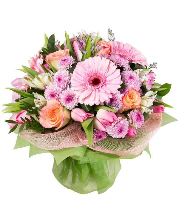 Служба доставки цветов кандалакша, букет зеленые цветов